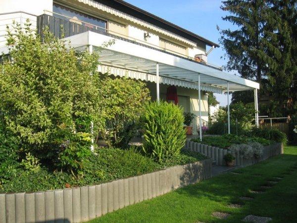 Überdachung Terrasse mit Markise