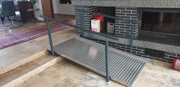 Behindertengerechter Treppenaufgang