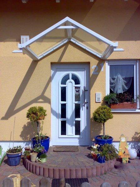 Vordach Haustüre
