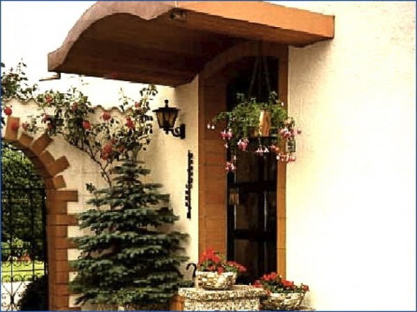 Vordach Eingangsbereich